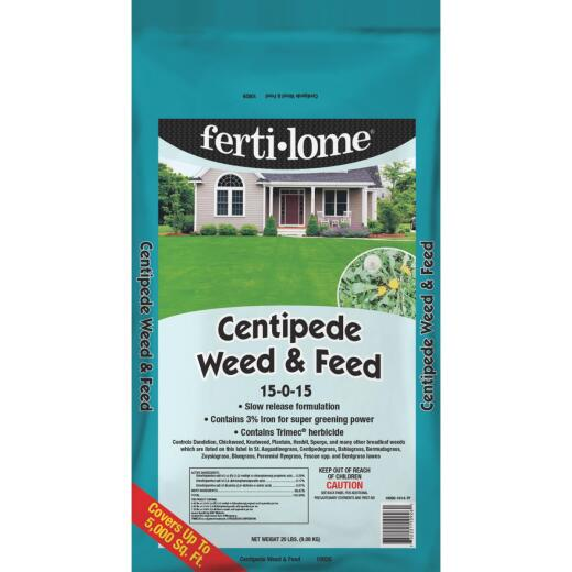 Ferti-lome Centipede Weed & Feed 20 Lb. 5000 Sq. Ft. 15-0-15 Lawn Fertilizer with Weed Killer