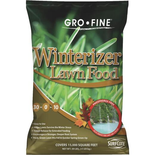 Gro-Fine 39 Lb. 15,000 Sq. Ft. 30-0-10 Winterizer Fall Fertilizer